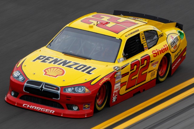 """Your name here"" as driver of the No. 22 Dodge Charger? - NASCAR photo"