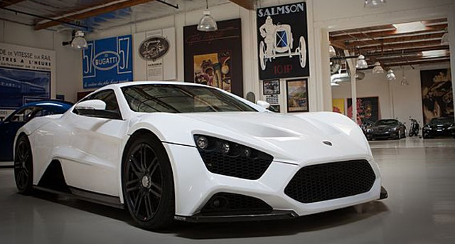 Zenvo St1 Supercar Lands In Jay Leno S Garage Video