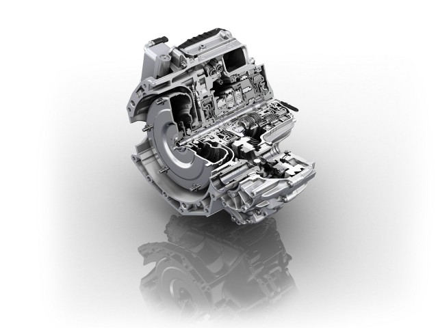 ZF 9-speed automatic transmission for transverse engines