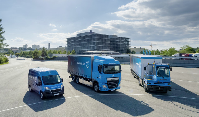 Auto supplier ZF turns focus to commercial sector with self-driving delivery vehicle
