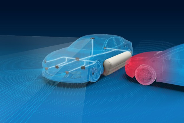 Exterior airbags could add another layer of safety in the event of a car crash