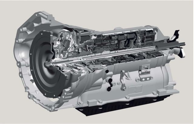 ZF eight-speed automatic