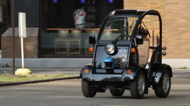 ZMP RoboCar automated vehicle
