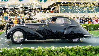 "1937 Alfa Romeo 8C voted ""Best of Show"" at 2018 Pebble Beach Concours"
