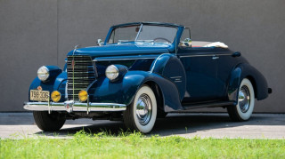 1938 Oldsmobile Convertible Coupe with Automatic Safety Transmission [CREDIT: Hemmings Motor News]