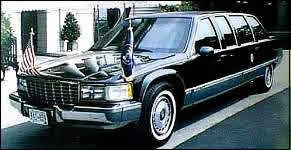 1993 Presidential Limo