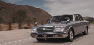 Jay Leno samples the style, power, and luxury of the 1993 Toyota Century