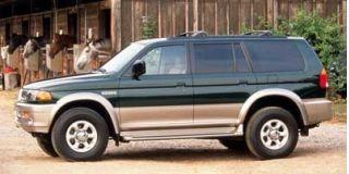 1998 Mitsubishi Montero Sport ES