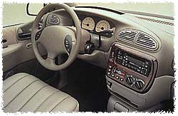 1999 Chrysler Town & Country Interior