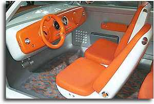 1999 Ford 021C concept interior
