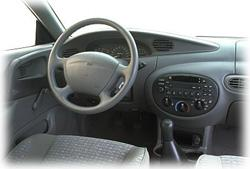 1999 Ford Escort ZX2 interior