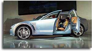 1999 Mazda RX-Evolv concept