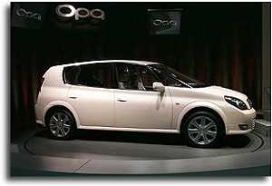 1999 Toyota Opa concept