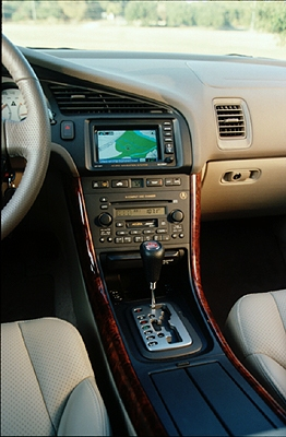 2000 Acura 3.2 CL interior