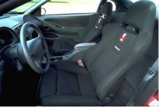 2000 Ford Mustang Cobra R interior