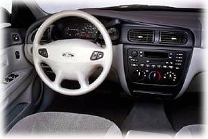 2000 Ford Taurus  interior