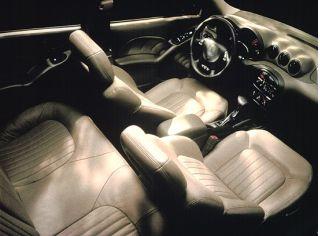 2000 Grand Am interior