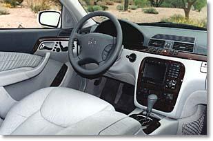 2000 Mercedes Benz S Class Interior