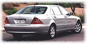 2000 Mercedes Benz S Class Rear