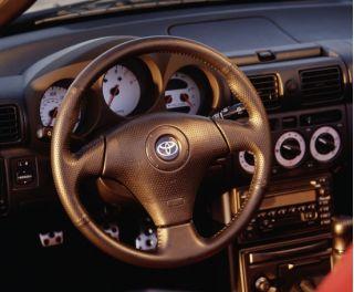 2000 Toyota MR2 Spyder interior