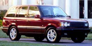 2001 Land Rover Range Rover SE