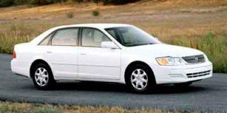 2001 Toyota Avalon XL w/Bucket Seats