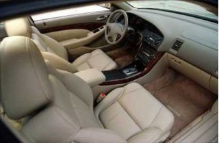 2001 Acura CL interior