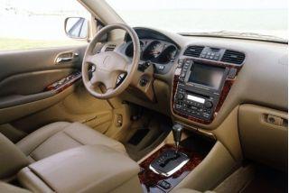 2001 Acura MDX interior 1