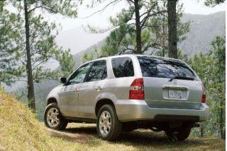 2001 Acura MDX rear 1