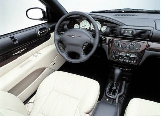 2001 Chrysler Sebring Convertible Limited Interior