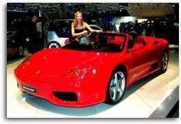 2001 Ferrari 360M Spider