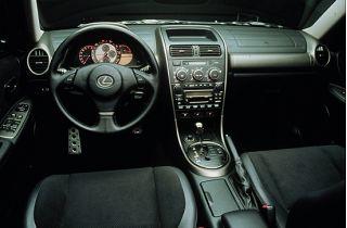 2001 Lexus IS 300 interior