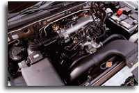 2001 Mitsubishi Montero engine