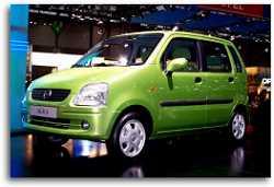 2001 Opel Agila