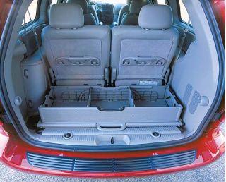 2001Chrysler Minivan cargo organizer