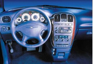 2001ChryslerTownCountryInterior