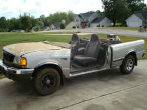 Craigslist Fail Who Wants A Real Ford Ranger Convertible