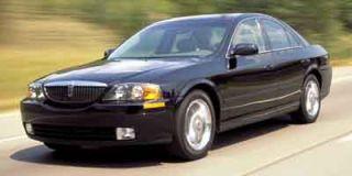 2002 Lincoln LS w/Base Pkg