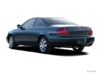 2003 Acura CL 2-door Coupe 3.2L Angular Rear Exterior View