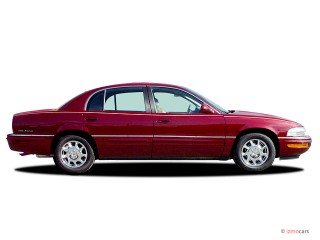 2003 Buick Park Avenue 4-door Sedan Side Exterior View