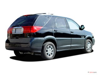 2003 Buick Rendezvous CXL FWD Angular Rear Exterior View