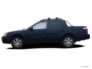 2006 Subaru Baja 4-door Sport Manual Side Exterior View