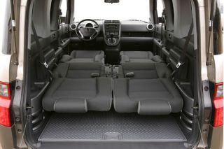 2003 honda element dimensions