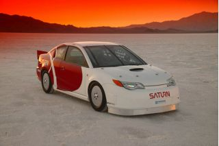 2003 Saturn ION Red Line Quad Coupe