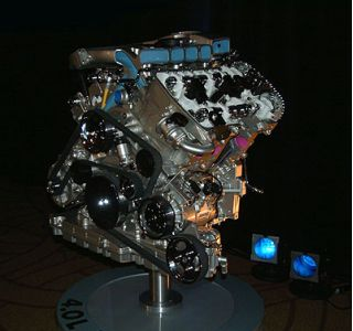 VW's unusual W-8 engine debuts in the 2003 Passat.