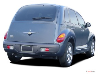 2004 Chrysler PT Cruiser 4-door Wagon GT Angular Rear Exterior View