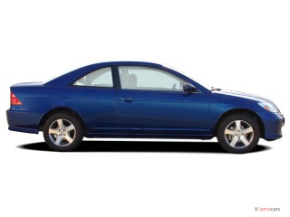 2004 Honda Civic 2-door Coupe EX Auto Side Exterior View