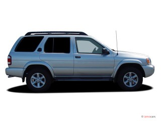 2004 Nissan Pathfinder Armada SE 2WD Side Exterior View