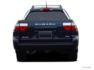2004 Subaru Baja 4-door Sport Auto Rear Exterior View