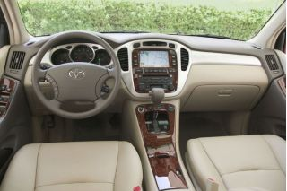 Toyota Highlander Review Ratings Specs Prices And Photos - 2004 highlander